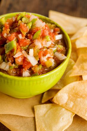 Paula Dean homemade salsa
