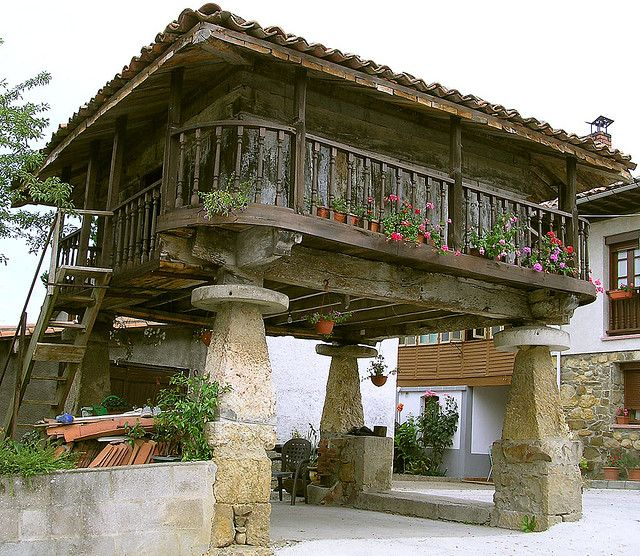 house and legs in Spain