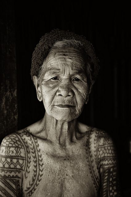 """Filipino woman  Many people say:""""did you ever think how it will look like when you're old?""""  Well, beautiful."""