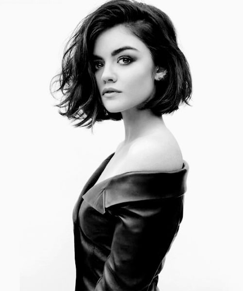 Lucy Hale in The Beauty Book for Brain Cancer