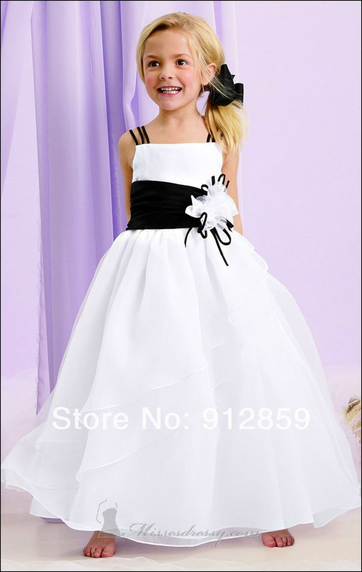25 parasta ideaa pinterestiss childrens bridesmaid dresses black and white childrens bridesmaid dresses ombrellifo Image collections