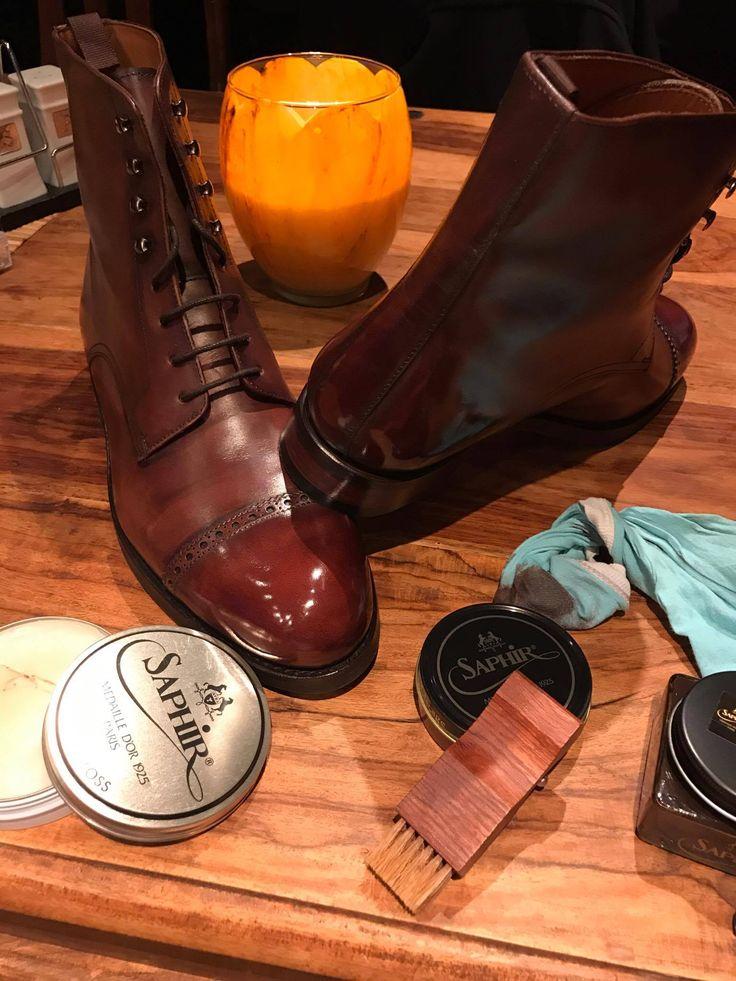SAPHIR High Gloss WAX & Boots  525 https://patine.shoes