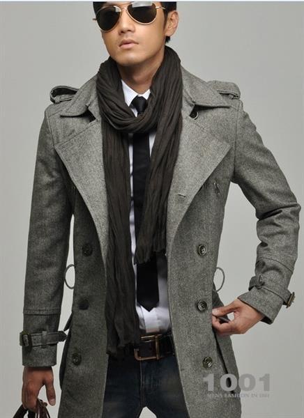 Модное мужское пальто опт
