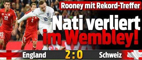 Rooney macht sein 50. Länderspiel-Tor 8-9-15