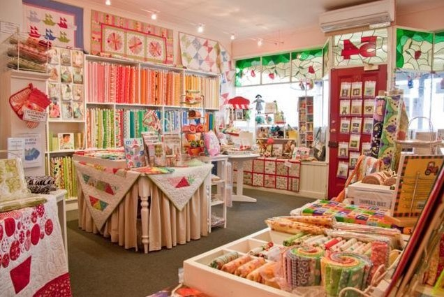 where would one start shopping at a fabric store so lovely?