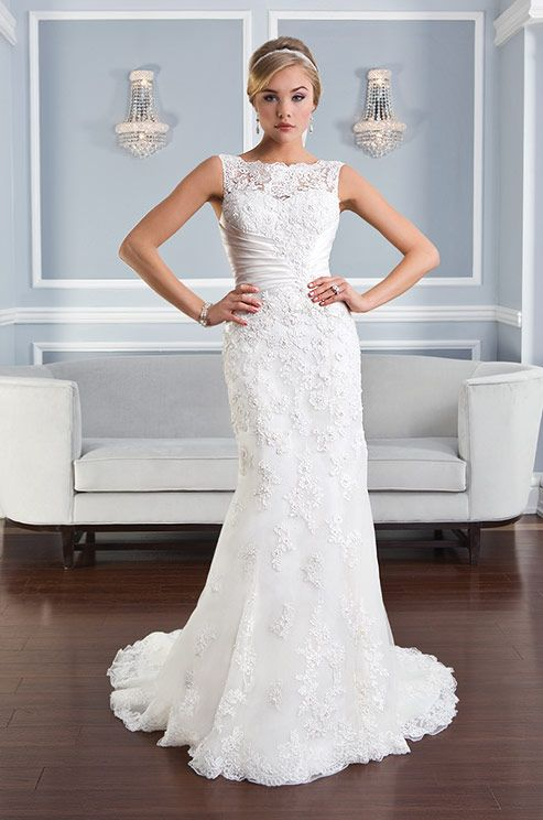 162 best Lillian West images on Pinterest | Wedding frocks, Short ...