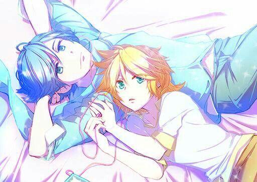 Kaito & Len♡
