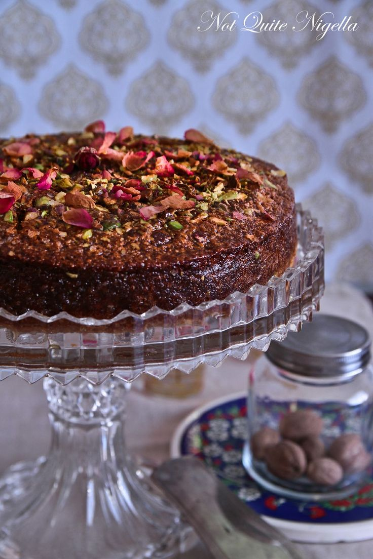 Armenian nutmeg cake. Original Recipe: http://www.aww.com.au/food/recipes/2004/4/armenian-nutmeg-cake/