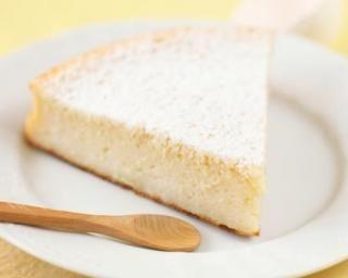 Gâteau au citron et fromage blanc allégé