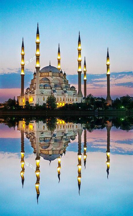 Haci Omer Sabanci Mosque /  Adana,Turkey..