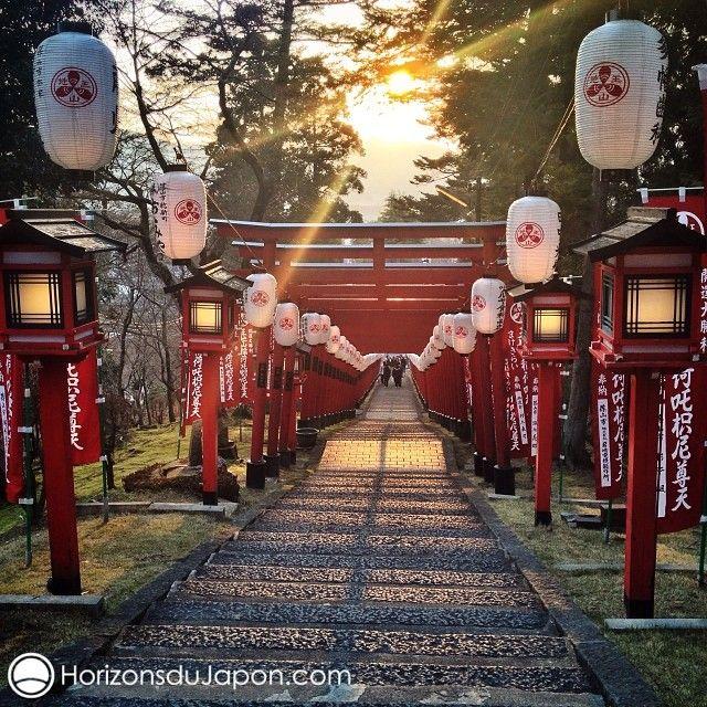 1ère prière de l'année dans un sanctuaire Inari perdu en pleine campagne. Pas un chat ! - Japon 365