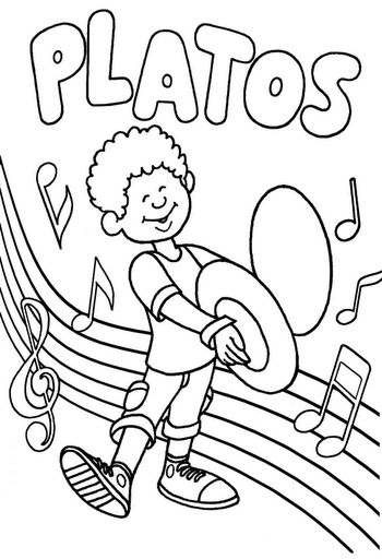 37 best Music Colouring Sheets images on Pinterest
