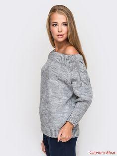 Каталожный свитер, интересная модель