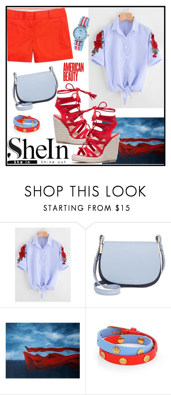 """Win Coupon from Shein"" by tlb0318 ❤ liked on Polyvore featuring Tommy Hilfiger, Tory Burch and Sophie and Freda"