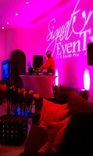 Austin Texas Event, Room Wash, Uplighting, Logo Projection Lighting, Stage lighting,