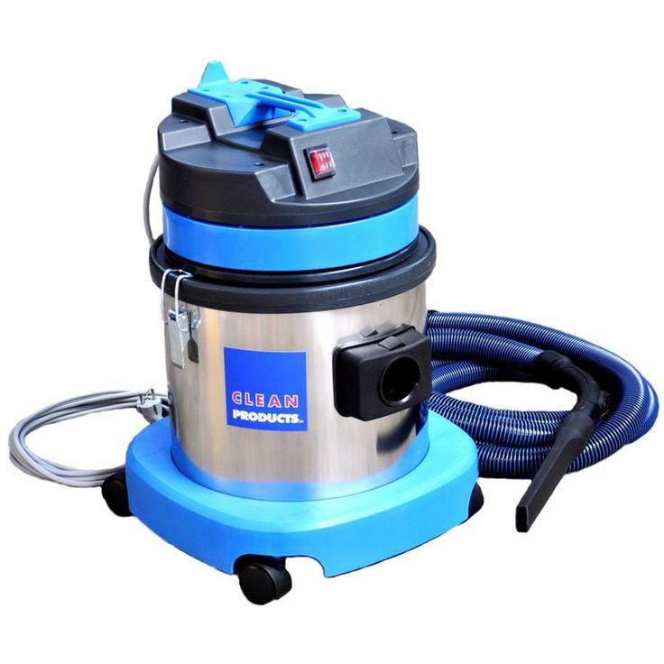 Profi-Industriestaubsauger THV 15-1 (Nass-Trocken-Sauger)  Starker Hochleistungssauger mit zweistufigem Saugmotor. Nass / Trocken mit Einlegetuchfilter. 15 Liter Edelstahlbehälter.