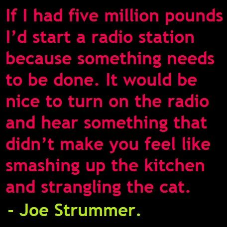 Quote from Joe Strummer