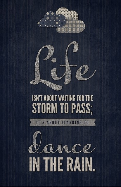 #quote.  Crocs are perfect for dancing in the rain. Just sayin'. Find yours at www.crocs.com