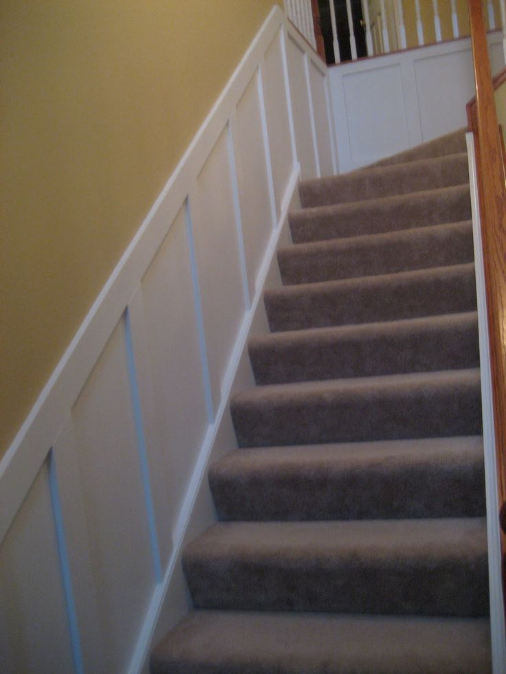 Stair Box In Bedroom: Wainscoting Central: Guest Party Highlight