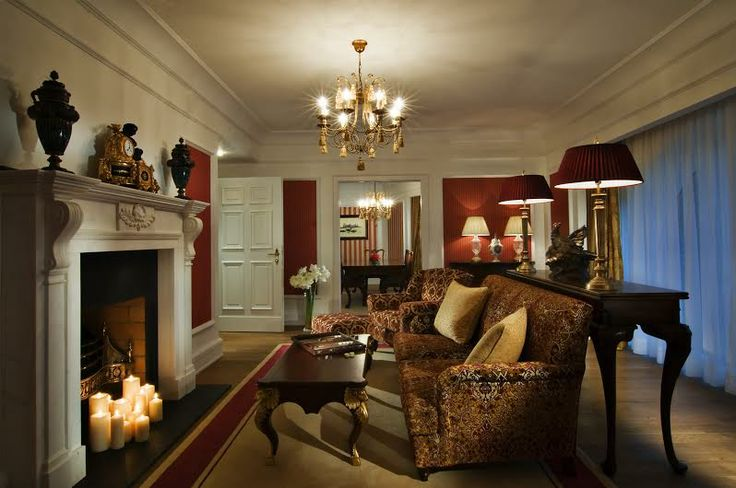 Presidential Suite #powerscourthotel #presidentialsuite #beauty #cosy