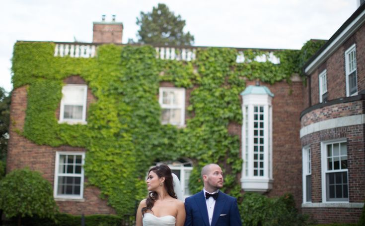 St. Andrew's College bride and groom