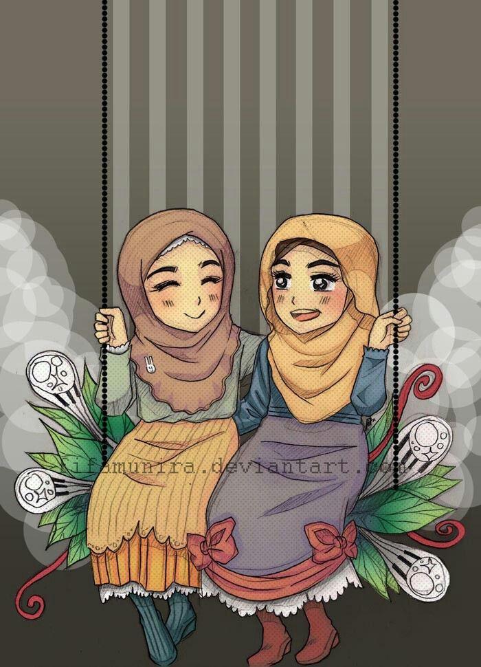 Muslim anime #friend