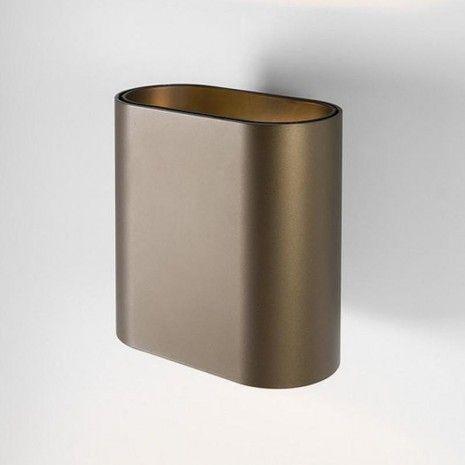 Modular Duell Wall LED 500lm Wandlamp brons