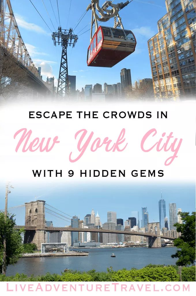 Escape the crowds with New York City Hidden Gems