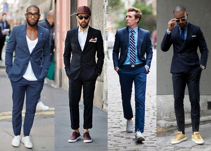 17 Best images about sneakers and suit on Pinterest ...