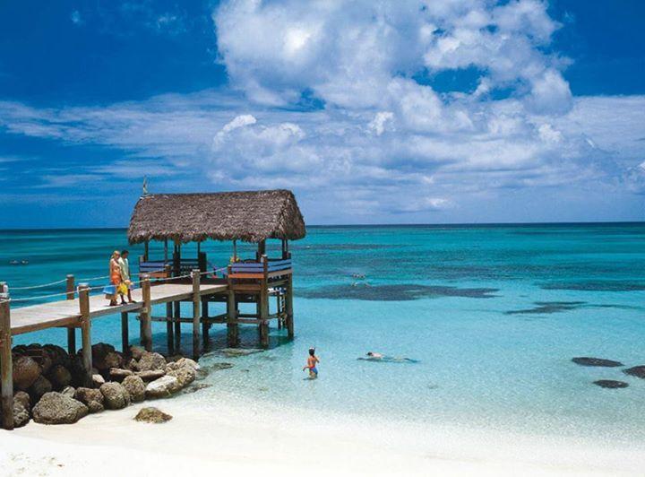 Isla Barú, costa Caribe de Colombia, cerca de Cartagena. Royal Decameron