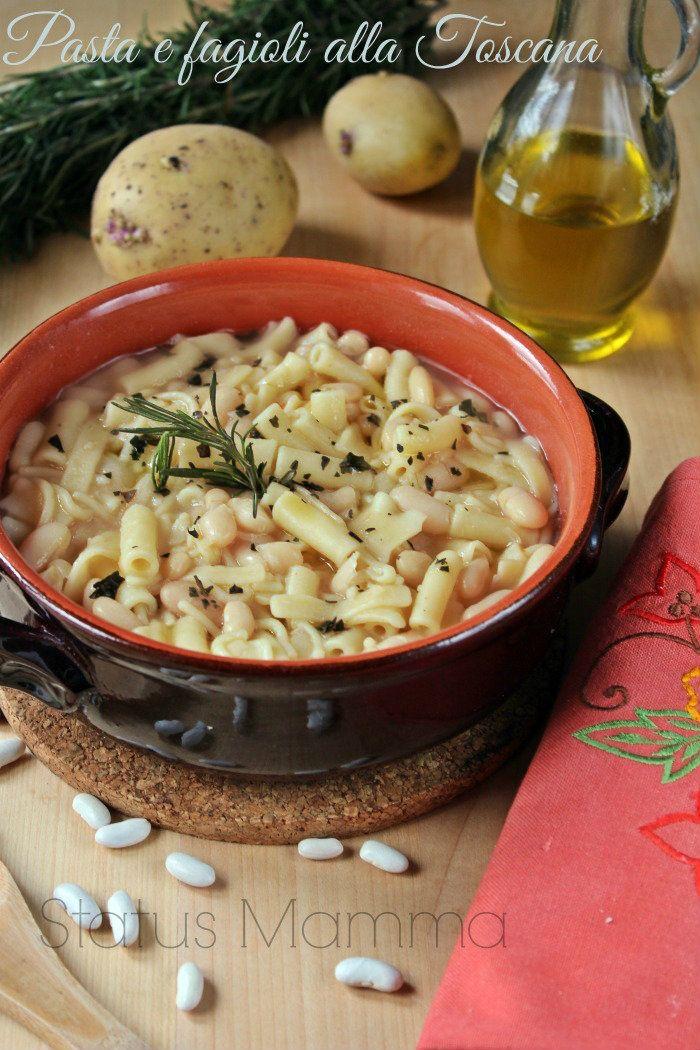 Pasta e fagioli alla toscana ricetta primo Statusmamma BlogGz Giallozafferano foto blog ricetta cucinare pomodoro