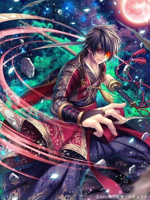 kamui_memo ! (・◇・) - 12月17日dゲームにて配信開始となりました、 「戦国姫神ワルキュリエ」にて「抜刀斎」担当しました。...