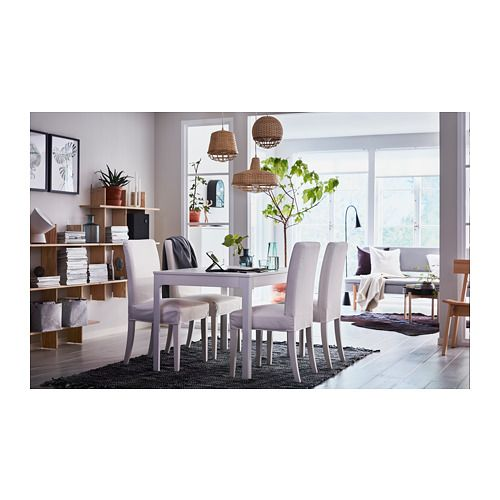 Ekedalen Extendable Table White Ikea Living Room Ikea Table