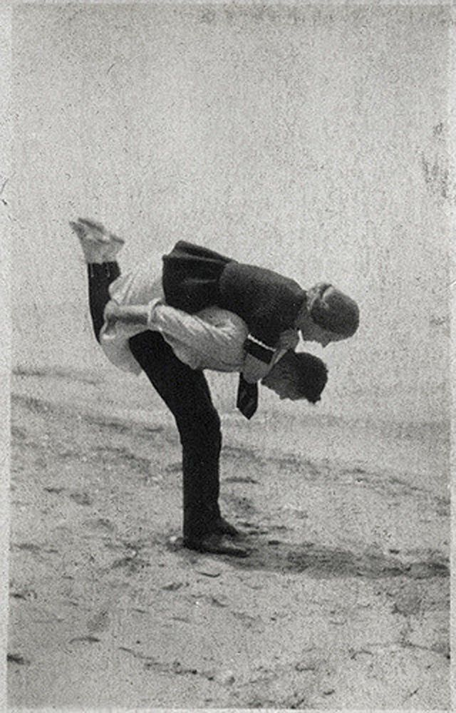 Love Is Not Just Kisses  Adorable Vintage Snapshots Captured Lovely Moments of Couples