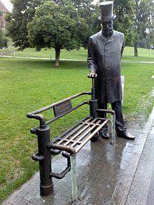 William Heerlein Lindley Statue, Warsaw ~ #Lindley