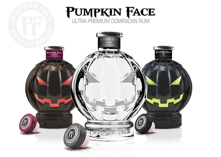 PUMPKIN FACE RUM - ULTRA PREMIUM DOMINICAN RUM  The white Rum runs $29.97, 40 for the reserve, and up to 60 bucks for the fancy reserve stuff.