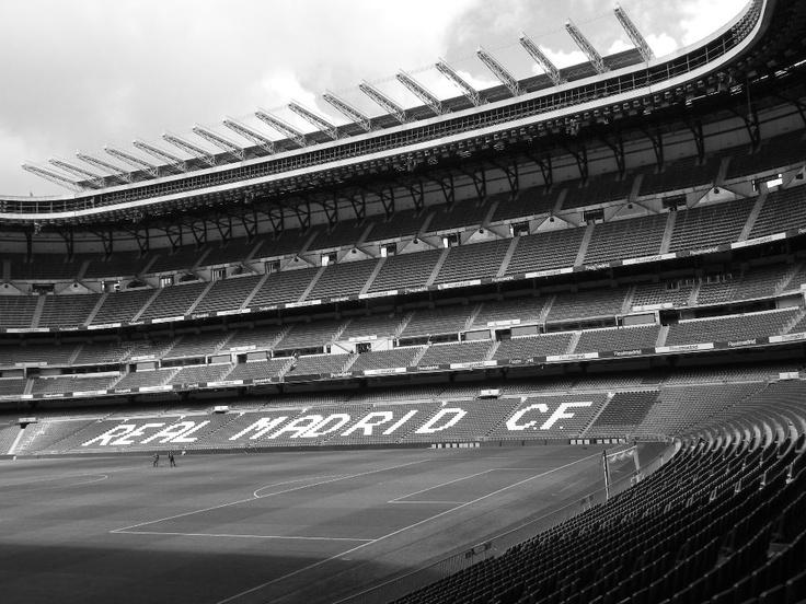 Santiago Bernabéu.