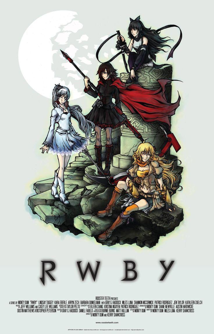 Rwby movie poster by on - Rwby deviantart ...