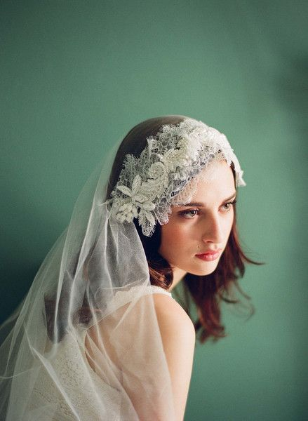 Twigs & Honey 2012 Juliet Cap Veil
