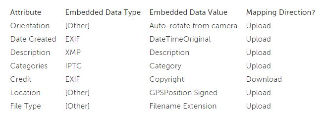 Our software makes it extremely easy to import metadata along with digital assets