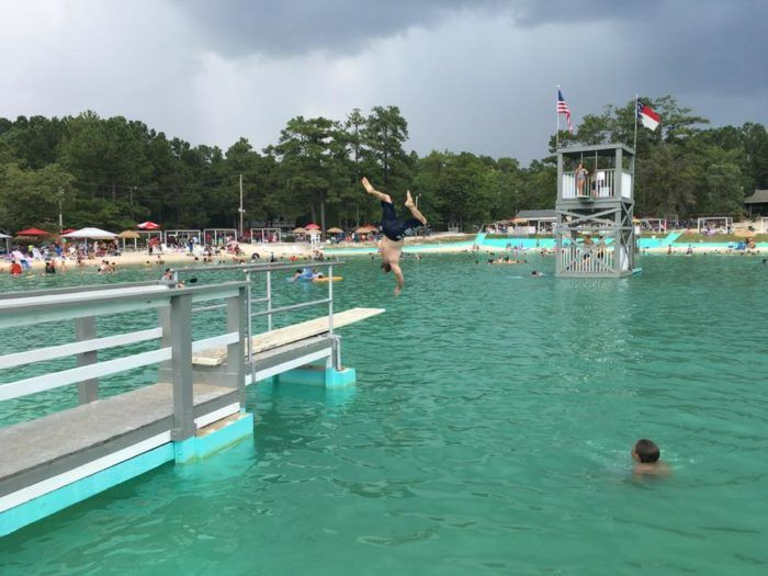 Lake Pines Swim Club Is A Wholesome Swimming Hole In North Carolina For Spending An Afternoon North Carolina Travel Swimming Holes North Carolina Lakes
