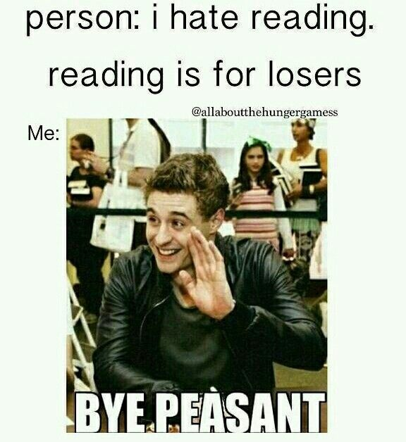 Haha ok so I don't like people who hate books but I treat them kindly but this is still funny. This is what I feel about book haters