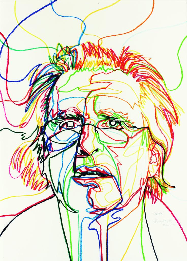 Gérard Fromanger, périodisation 1962-2012