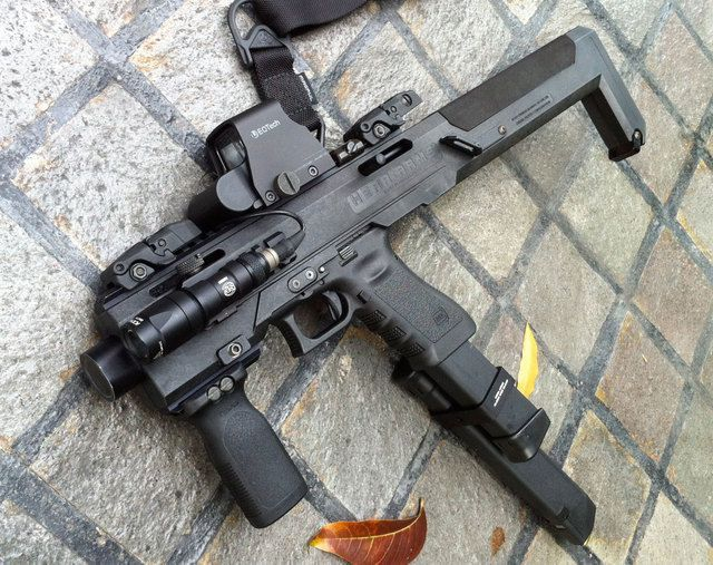 CAA Roni carbine attachments for your Glock