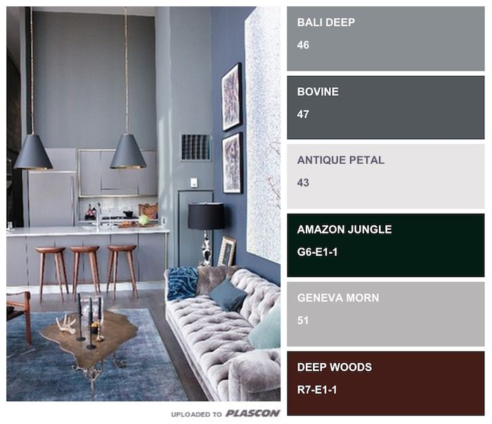Home Ideas, Color Palettes And Color Schemes