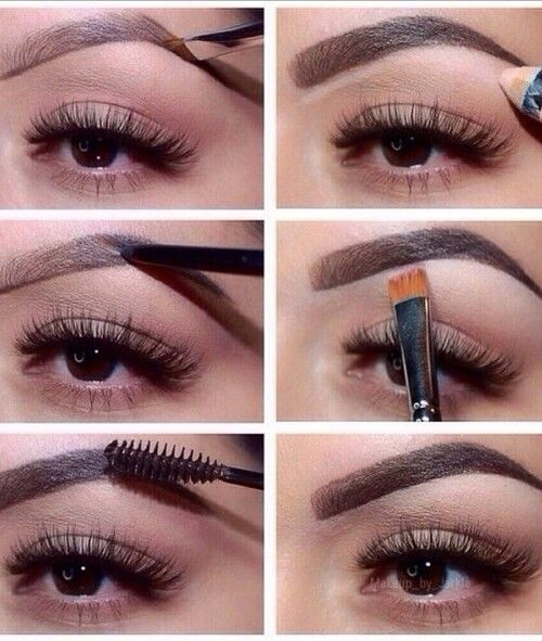 Perfilar cejas #MakeUp #eyebrows