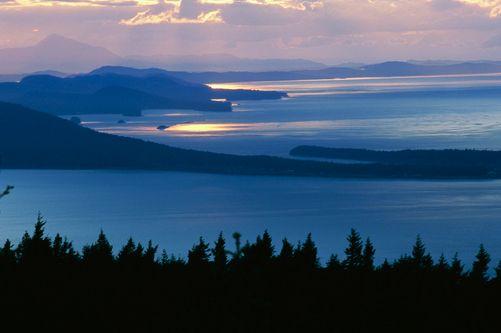 Gulf Islands, British Columbia.