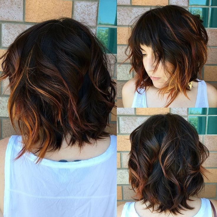 Wavy Choppy Hairstyles : Curly bob hairstyles short and haircuts for