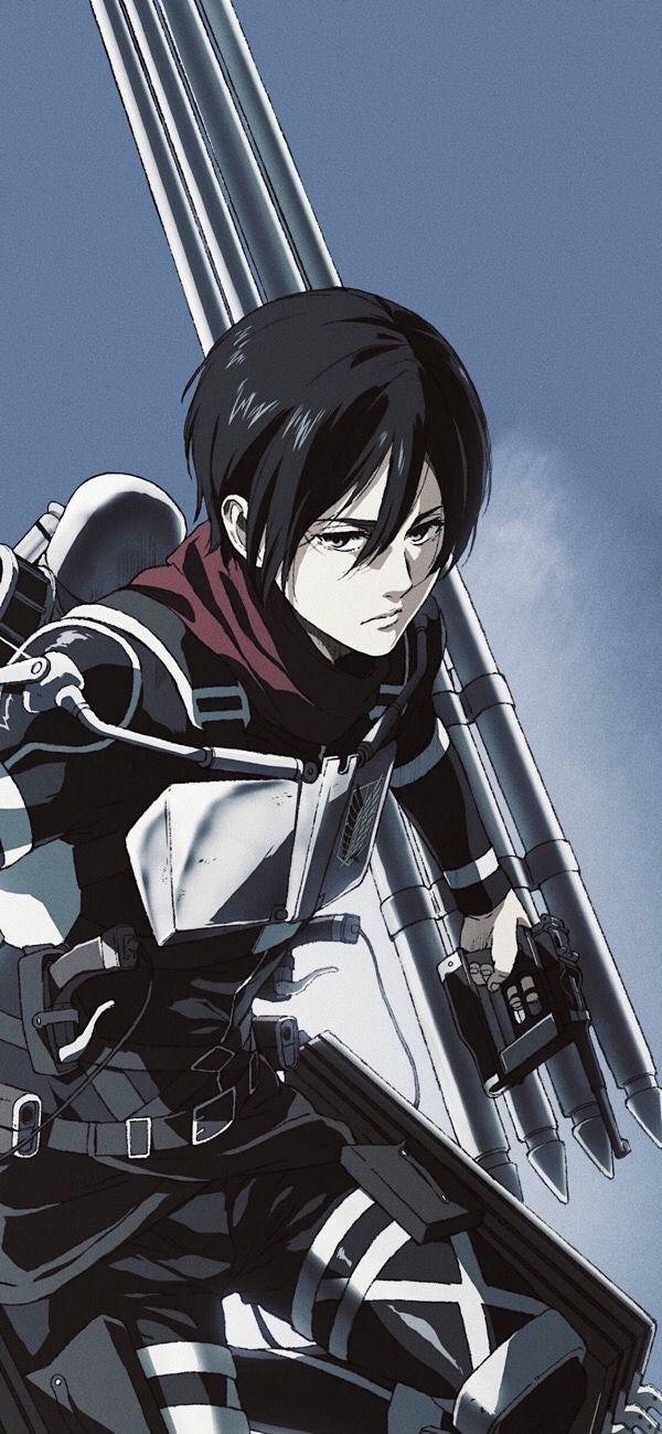 Mikasa Ackerman Shingeki No Kyojin In 2021 Attack On Titan Art Anime Butterfly Mikasa Aot Fanart
