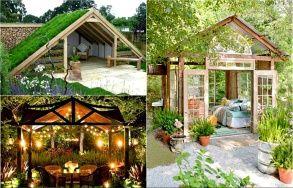 """17 оригинальных примеров дизайна садовых беседок, которые можно построить на своем дачном участке уже следующей весной - """"Огород, сад, балкон"""" - Почта Mail.Ru"""